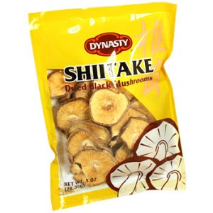 photo of Dynasty brand sried mushrooms