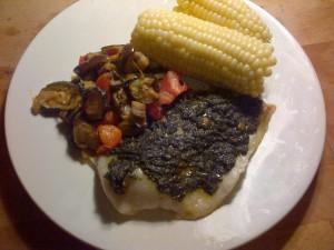 photo of dinner plate
