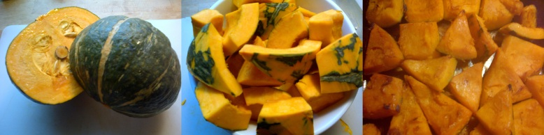 photo stream of kabocha squash