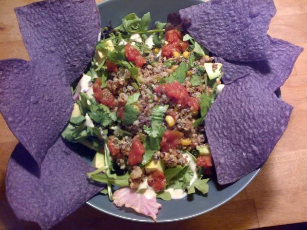 photo of taco salad