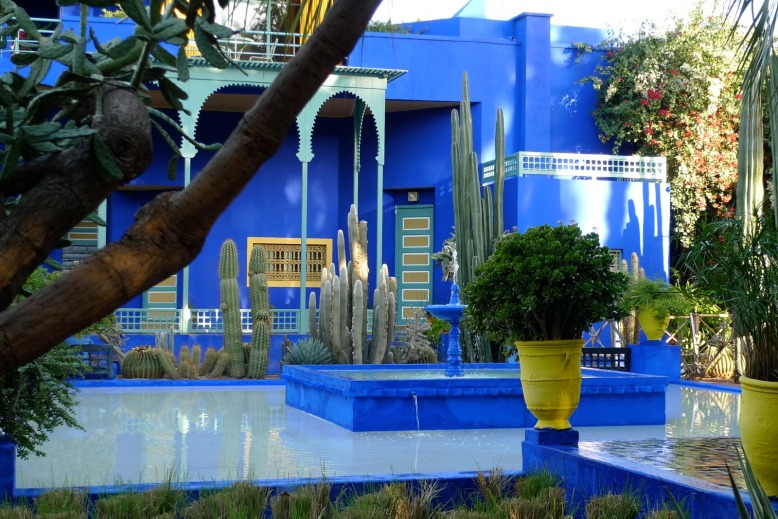Majorelle Garden in Marrakesh