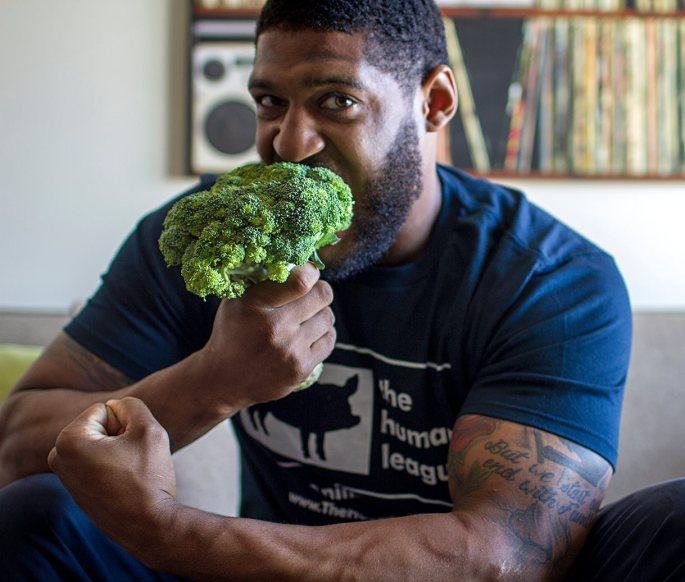300 lb vegan