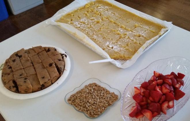 photo of dessert table